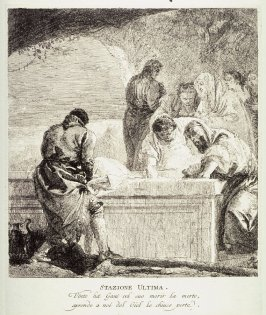 The Entombment, Station 14 from the series Via Crucis (Stations of the Cross)