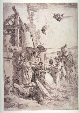The Adoration of the Magi, published with prints from the series Scherzi di Fantasia (Playful Fantasies)