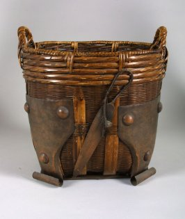 Basket with Applied Copper Mounts