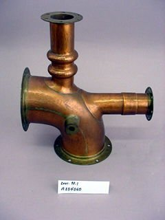 Water or Steam Pipe Joint for a Ship