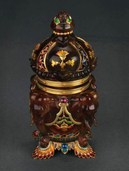 Inkwell, retailed in Paris by Tiffany