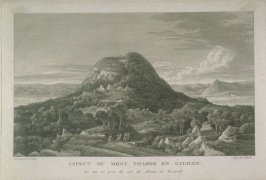View of Mount Tabor in Galilee