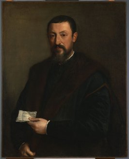 Portrait of a Friend of Titian (Marco Mantova Benavides)