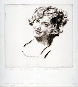 Head of Young Woman