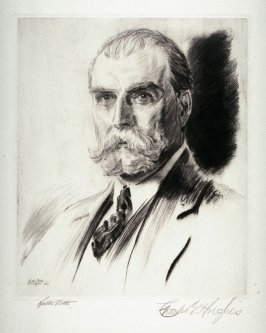 Charles Evans Hughes (USA) from Portraits of International Dignitaries to the International Naval Disarmament Conference