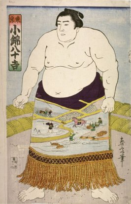 The Wrestler Konishiki Yasokichi