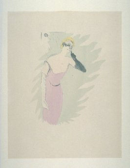 Yvette Guilbert, dans Colombine à Pierrot, from the Fourth Edition, 1950