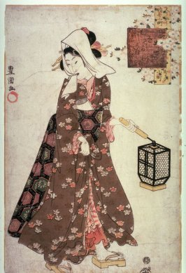 Komachi Coming and Going (Kayoi komachi), from the series Modern Girls in Scenes from the Life of Komachi (Imayo musume komachi)