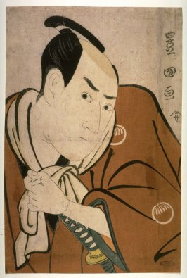 Sawamura Sojuro III, probably as Ume no Yoshibei, from an untitled series of e\portraits of actors