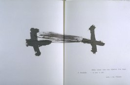 Untitled, in the book Air by André du Bouchet (Paris: Maeght Editeur, 1971)