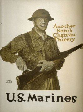 Another Notch Chateau Thierry, U.S. Marines - World War I poster