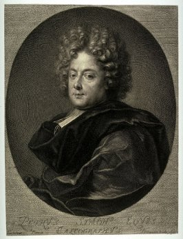 Portrait of Pierre Simon, (after Francois Tortebat)