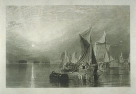 Plate 1: Stangate Creek on the River Medway, from the series 'The Rivers of England'