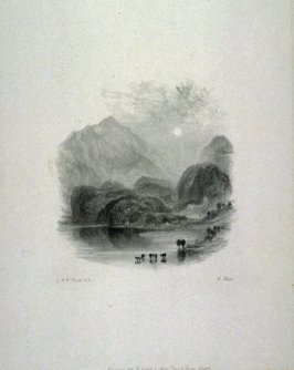 Loch Acbray, from Scott's Poetical Works