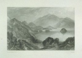 Loch Katrine, from Scott's Poetical Works