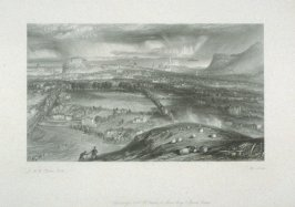 Edinburgh, from Scott's Poetical Works vol 7