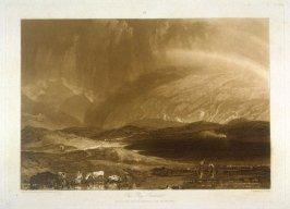 Peat Bog, Scotland, from Turner's 'Liber Studiorum'