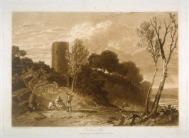 Winchelsea, Sussex, from Turner's 'Liber Studiorum'