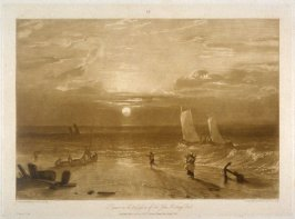 The Mildmay Sea Piece, from Turner's 'Liber Studiorum'