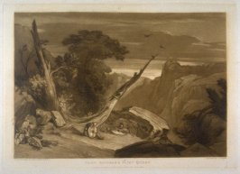 From Spencer's Faerie Queen, from Turner's 'Liber Studiorum'