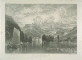 Plate 11: Totness on the River Dart, from the series 'The Rivers of England'
