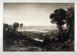 Junction of the Severn and Wye Rivers, from Turner's 'Liber Studiorum'