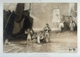 Marine dabblers, from Turner's 'Liber Studiorum'