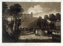 St. Catherine's Hill Near Guilford, from Turner's 'Liber Studiorum'