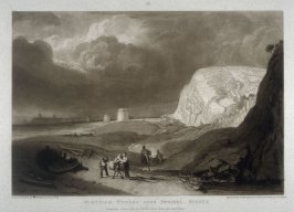 Martello Towers, near Bexhill, Sussex, from Turner's 'Liber Studiorum'