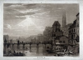 Basle, from Turner's 'Liber Studiorum'