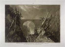 The Little Devils Bridge over the Russ above Altdorft Swiss, from Turner's 'Liber Studiorum'