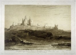 Duntanborough Castle, from Turner's 'Liber Studiorum'