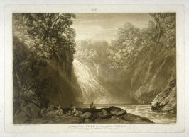 The Clyde River, from Turner's 'Liber Studiorum'