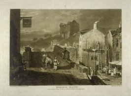 Morpeth Northumberland, from Turner's 'Liber Studiorum'