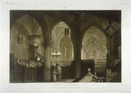 Interior of a Church, from Turner's 'Liber Studiorum'