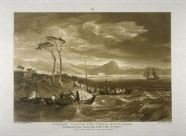 Inverary Castle and Town, from Turner's 'Liber Studiorum'