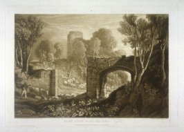 East Gate, Winchelsea, from Turner's 'Liber Studiorum'