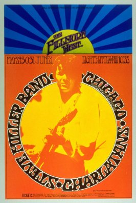 Steve Miller Band, Chicago, Charlatans, May 29 - June 1, Fillmore West