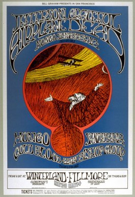 Jefferson Airplane, Grateful Dead, Mongo Santamaria, Cold Blood, Elvin Bishop Group, May 1 & 4, Fillmore Auditorium, May 2 & 3 Winterland