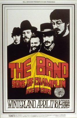 The Band, Sons of Champlin, Ace of Cups, April 17 - 19, Winterland