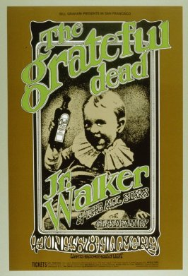 Grateful Dead, Junior Walker & the All Stars, Glass Family, June 5 - 8, Fillmore West