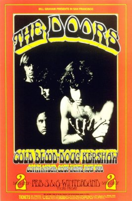 Doors, Cold Blood, Doug Kershaw, Commander Cody, February 5 & 6, Winterland