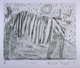 A Cat, tenth plate from the portfolio, Personal Expericence