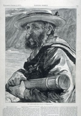 The Coast Guard from Harper's Weekly (October 4. 1879), pp. 797 & 800