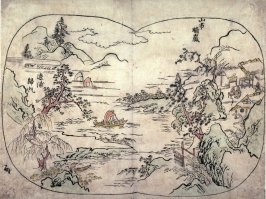Ro. from Eight Famous Views of China and Japan