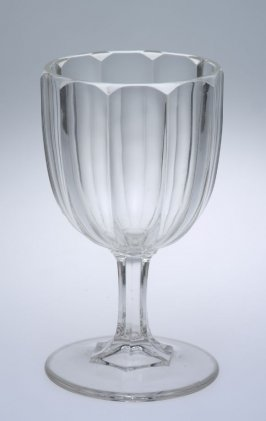 Goblet with Crystal pattern