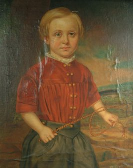 Capt. H. H. Colby at the Age of Four