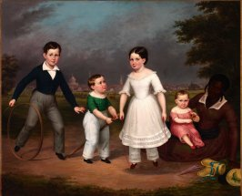 Robert, Calvin, Martha and William Scott and Mila