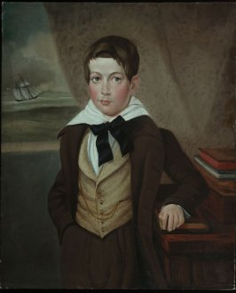 Dr. John Washington Van Zandt, Jr., as a Child