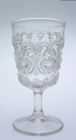 Wine glass Tennessee or Jewelled Rosette